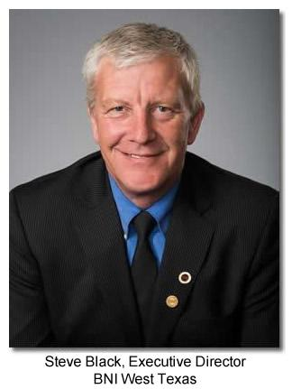 Steve Black, Executive Director BNI West Texas